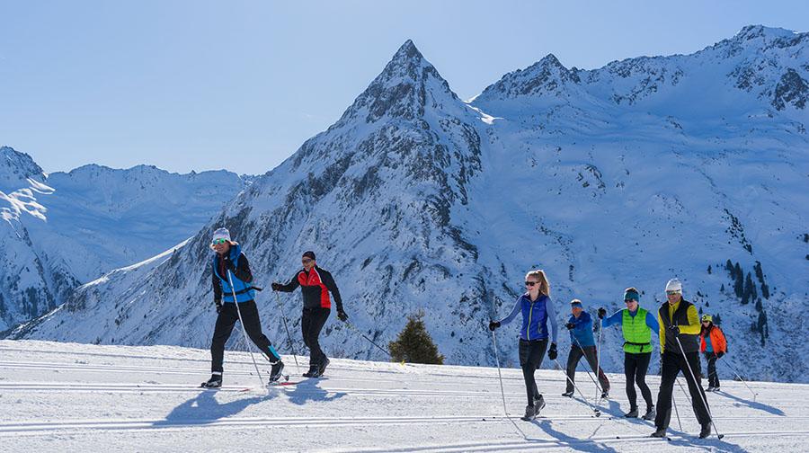 Get high – beim Langlaufen in Galtür - langlaufen langlauf-regionen