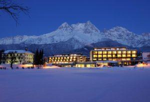 Hotel Ritzenhof in Saalfelden im Winter