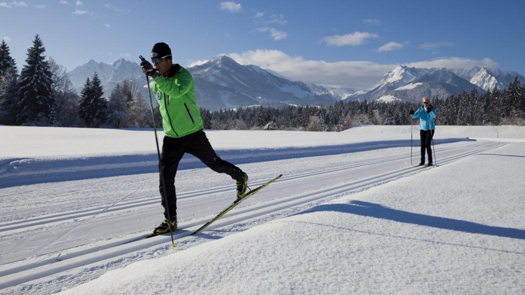 Kaiserwinkl: Kaiserlicher Langlaufurlaub zum fairen Preis - langlaufen langlauf-regionen