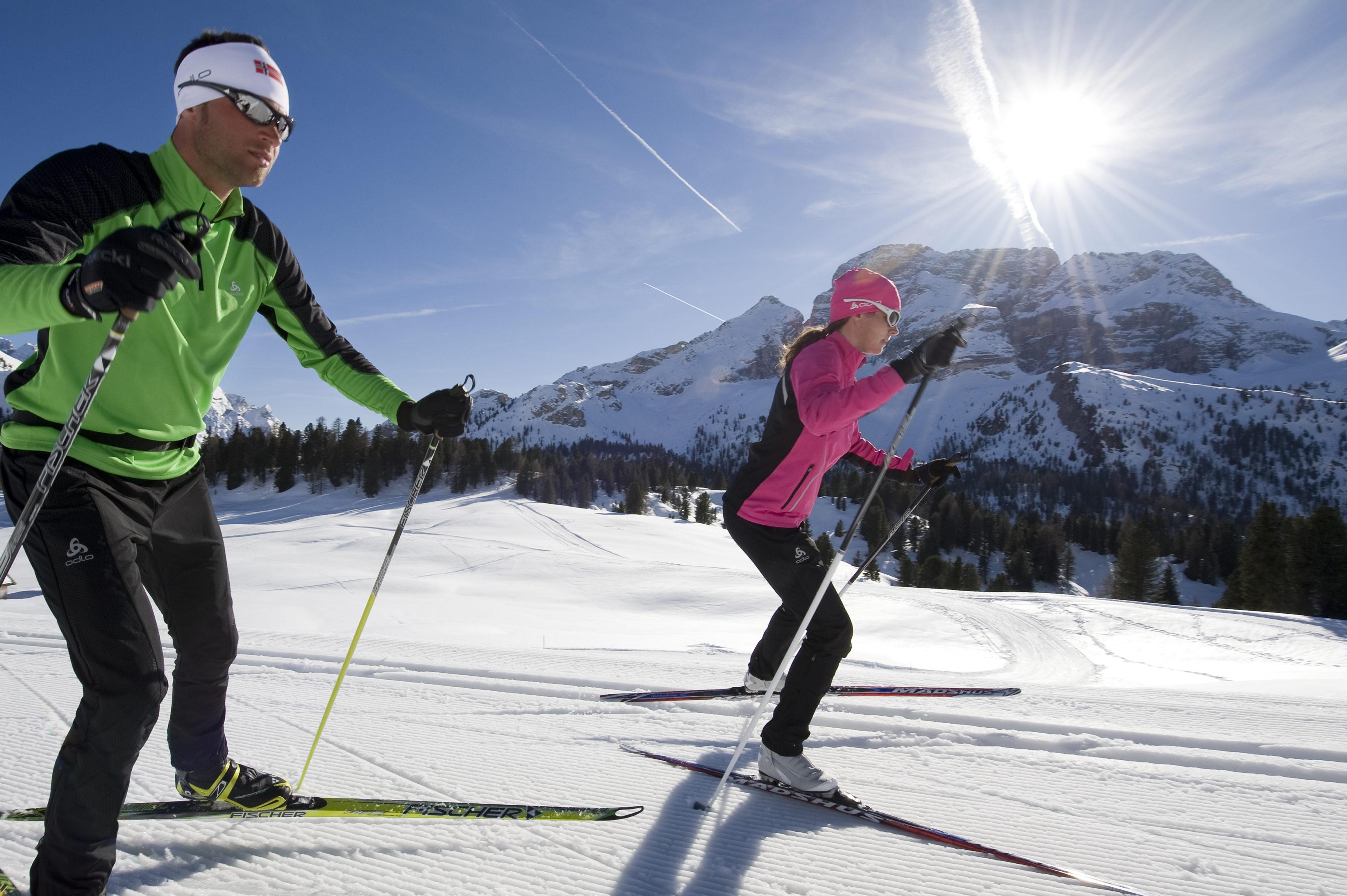 Langlauf Urlaub in Österreich, Deutschland, Italien und der Schweiz