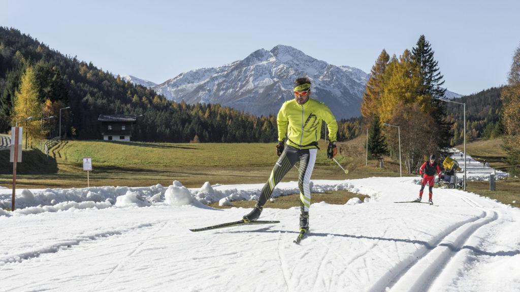 Seefeld: Eine leistungsstarke Schneeanlage macht's möglich! - langlaufen langlauf-regionen