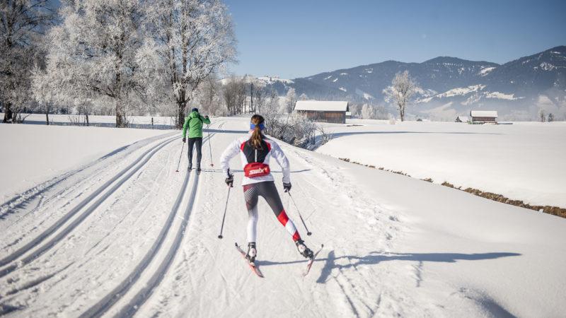 Salzburger Sportwelt: Mit der Natur in der Spur - wintersport langlauf-regionen langlauf-hotels biathlon