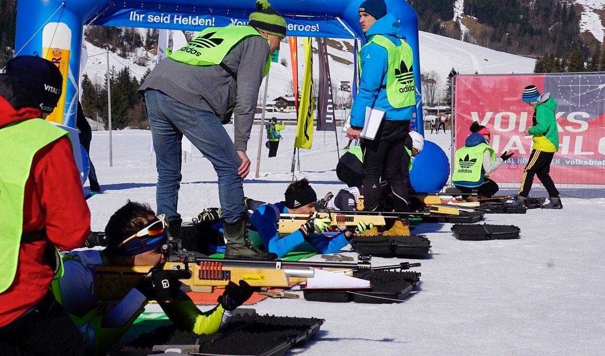 PillerseeTal: Langlaufen und Schießen bei besten Loipenbedingungen! - langlauf-regionen biathlon