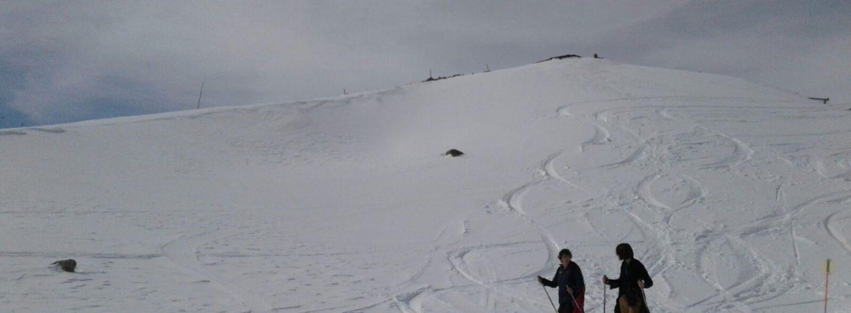 Zell am See - Kaprun: Winterfeeling im Frühling! - wintersport schneeschuhwandern