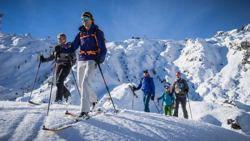Die Skitouren Gruppe on Tour