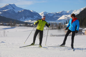 Langlaufkurs in den Kitzbüheler Alpen