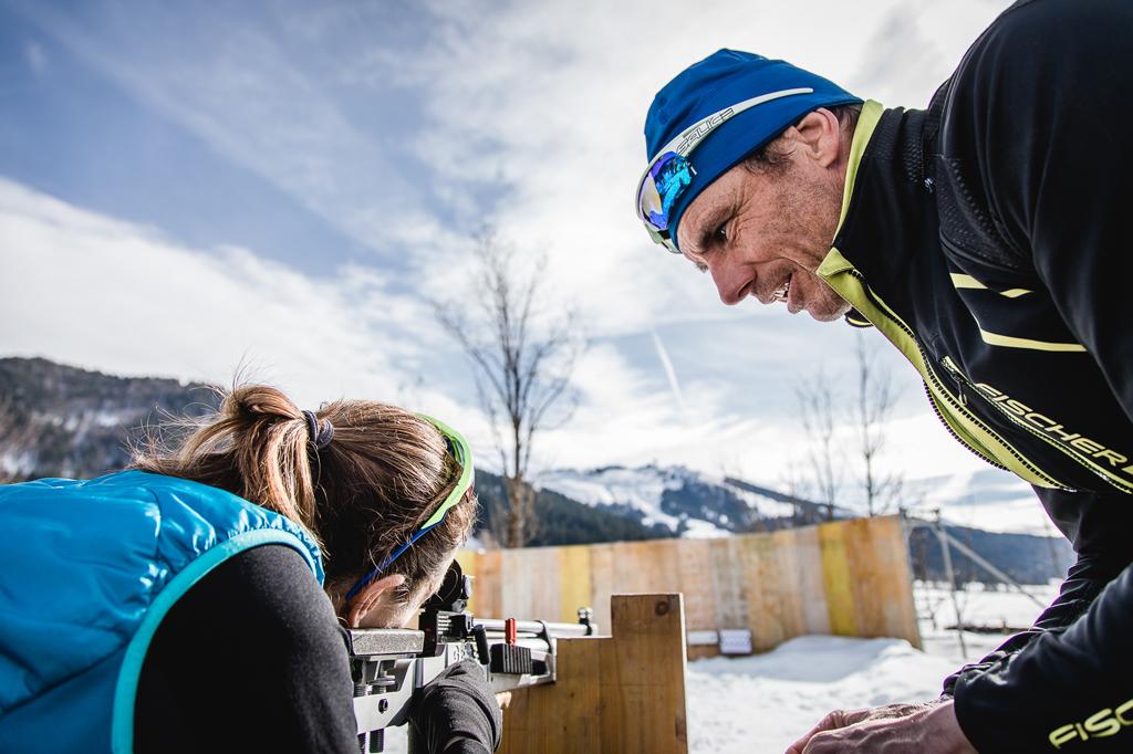 Langlaufcamp mit Biathlon-Schnuppertraining - langlauf-regionen, events
