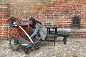 Kinder sicher transportieren