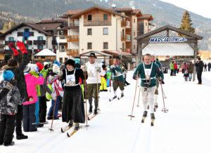 Langlaufen in der Region Val di Fiemme
