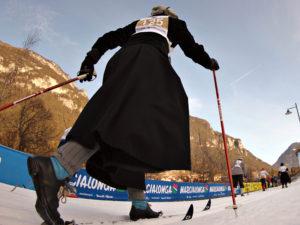 Langlaufen wie damals im Val di Fiemme