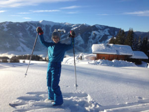 Skitour mit Kindern in der Region Zell am See - Kaprun