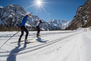 Langlaufurlaub in der Region Drei Zinnen Dolomiten