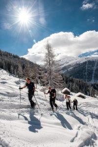 Traumhafte Winterlandschaft in der Salzburger Sportwelt