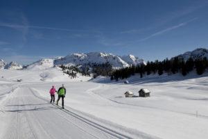 Langlaufen in Südtirol Italien