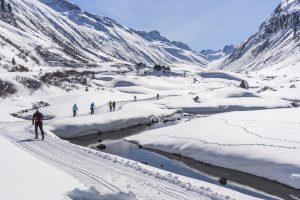 Höhenloipe Silvretta - Paznaun
