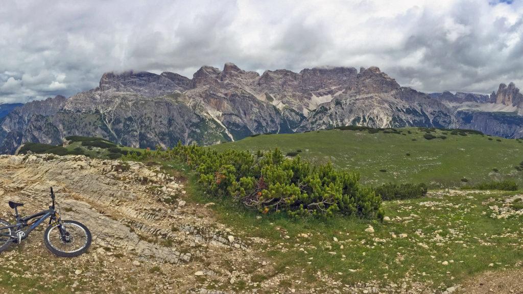 Panorama Strudelkopf Drei Zinnen Dolomiten