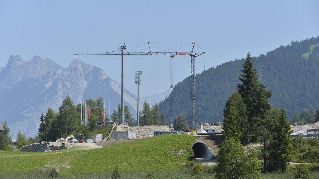 Basisgelände der WM in Seefeld