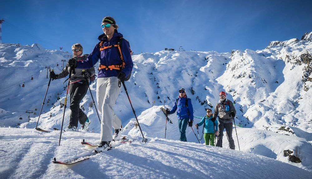Die Skitouren Gruppe on Tour