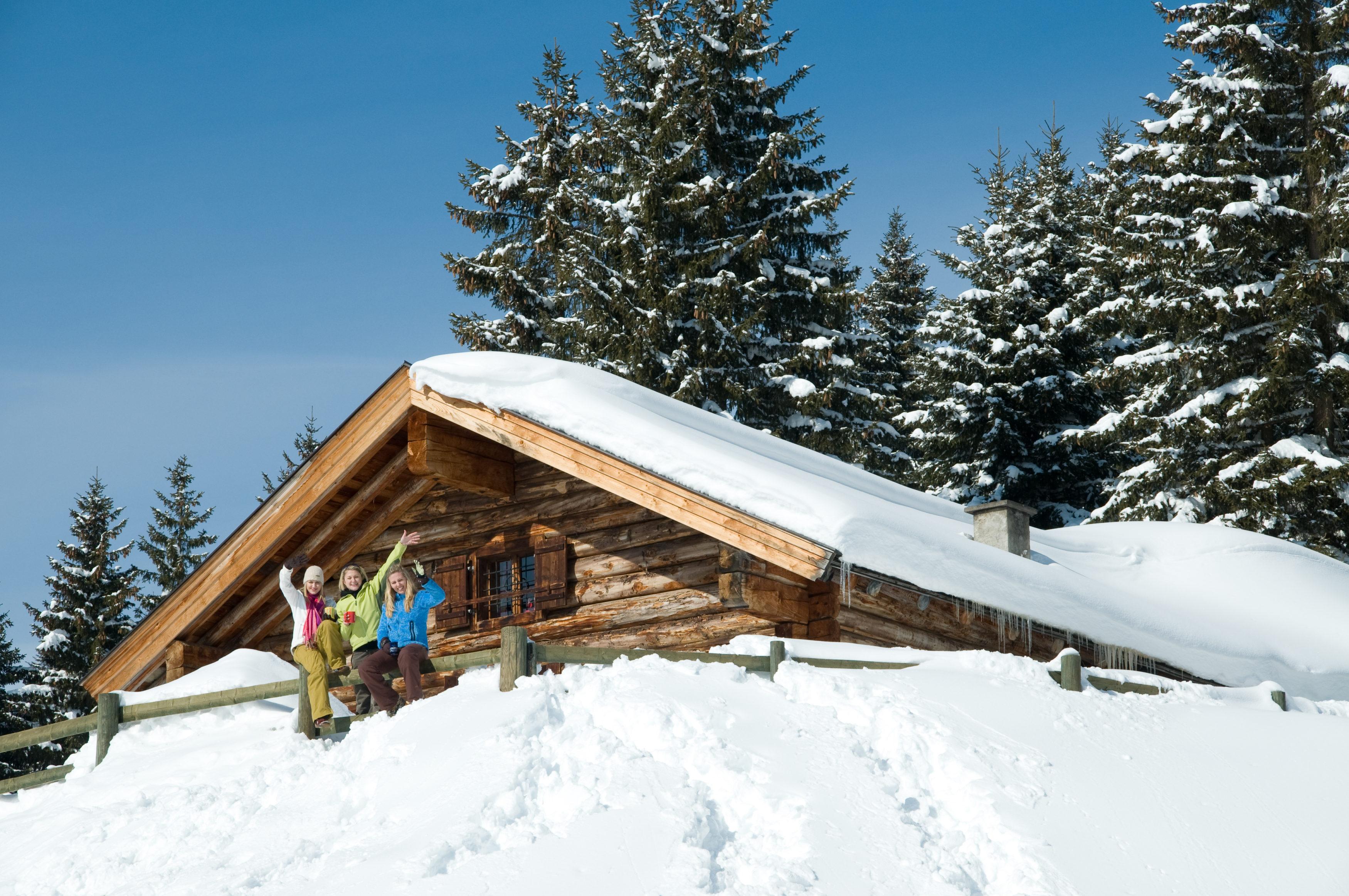Winterhütte von Almliesl