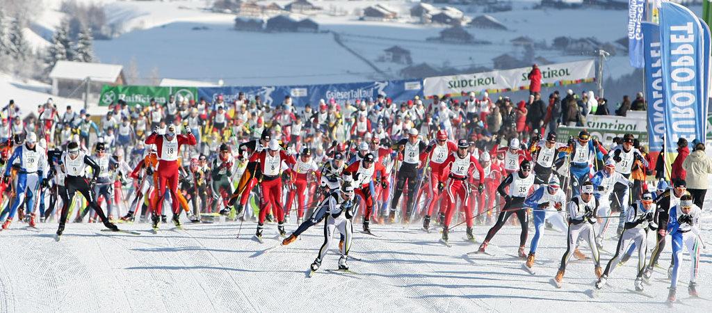 Teilnehmer vom Gsieser Tal Lauf