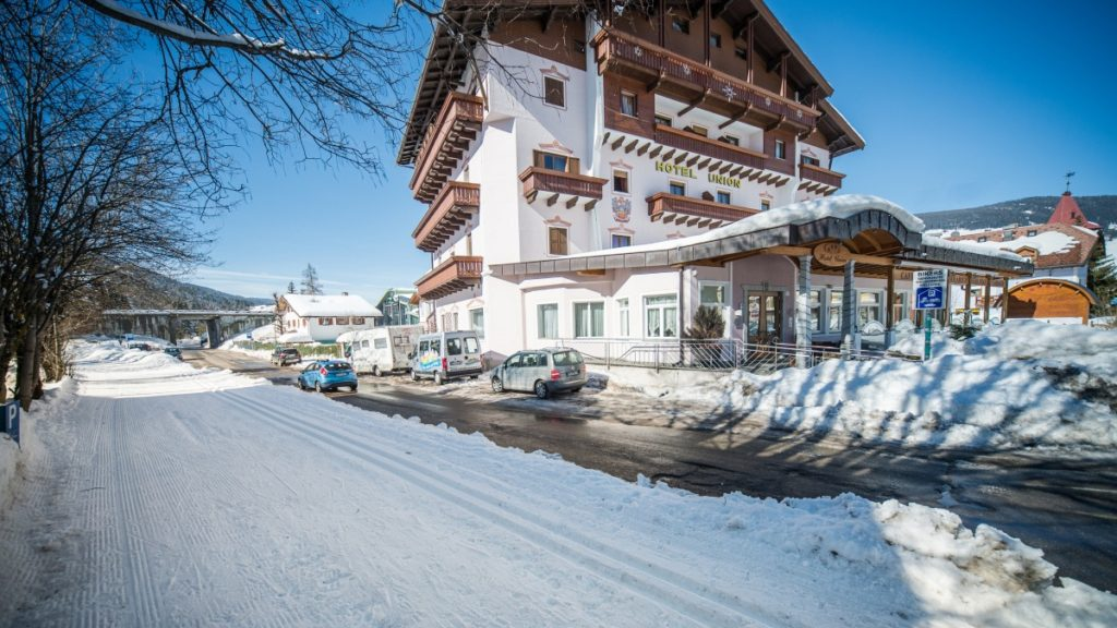Langlauf Hotel Union in Toblach