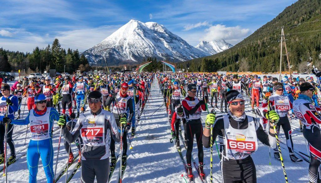 Ganghoferlauf in Leutasch in Österreich