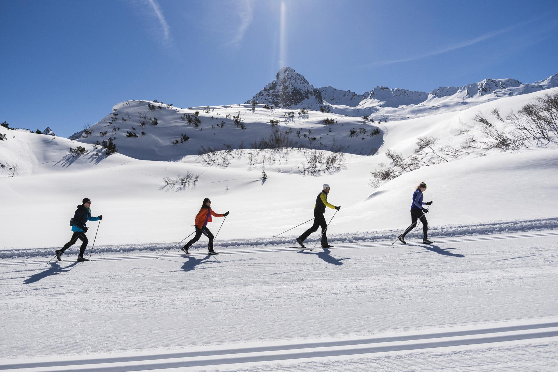 Langlauf-Idylle im Paznaun - langlauf-regionen