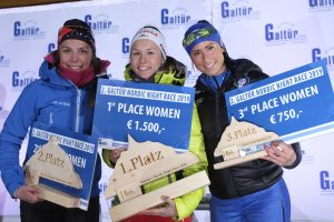 Damen Podium - Galtür Nordic Night Race