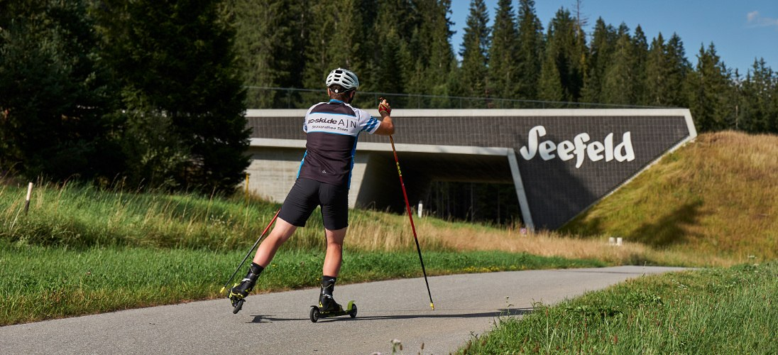 Skirollerstrecke & Sommerbiathlon in Seefeld - news