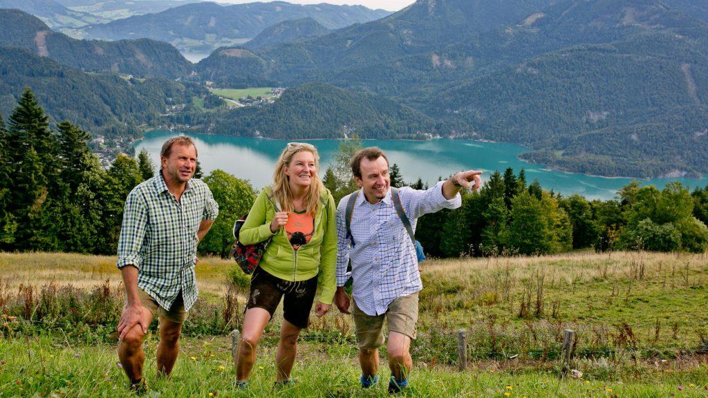 Mehrtageswanderung © Fuschlseeregion - Wildbild