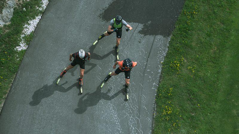 Swiss Cross Country Team bereitet sich in Seefeld auf den Winter vor