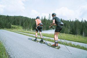Das Swiss Cross Country Team auf Trainingslager in Seefeld - sommer