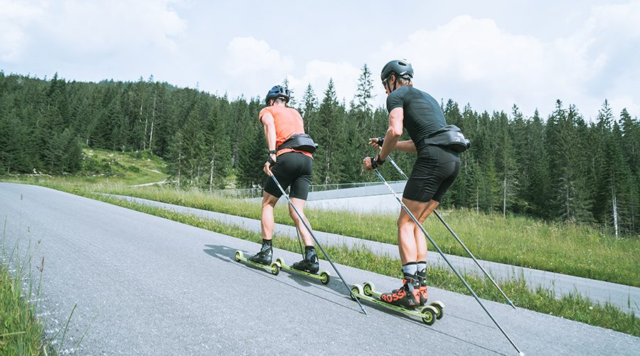 Skiroller Strecke in Seefeld