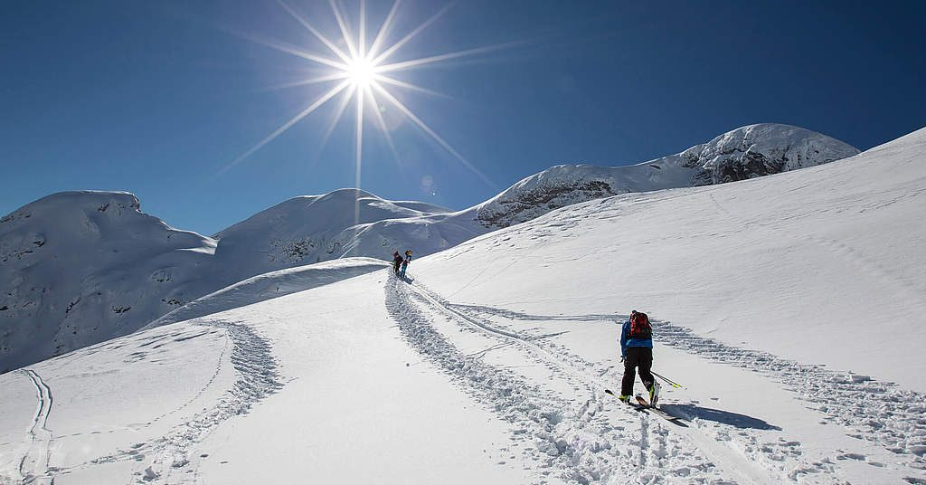 Skitouren gehen in Nassfeld