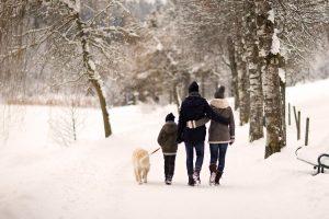 Winterspaziergang in Saalfelden Leogang ©Florian Lechner