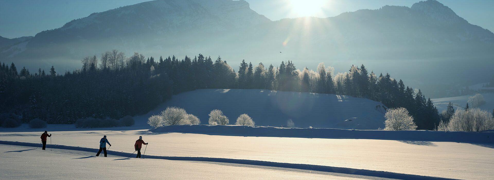 Langlaufen in Tirol ©Bernhard Bergmann