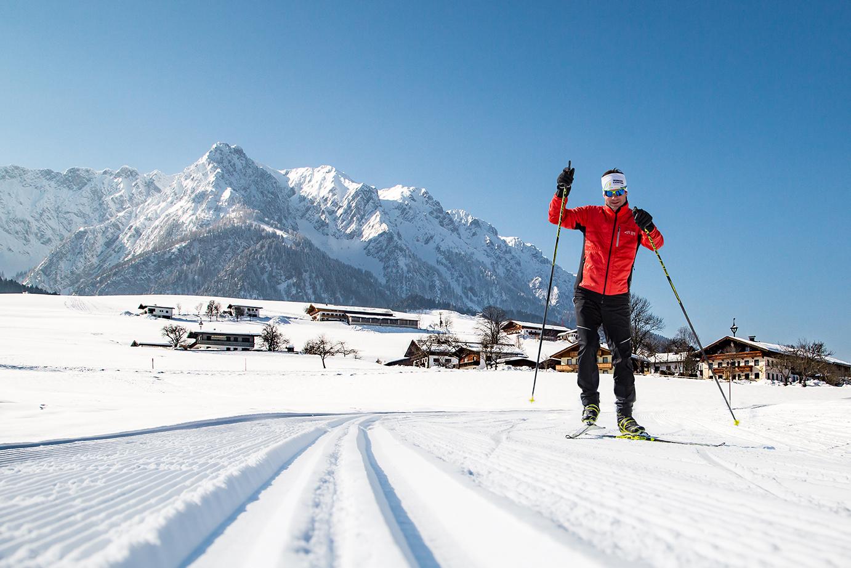 Langlaufen in Tirol ©EliasJerusalem