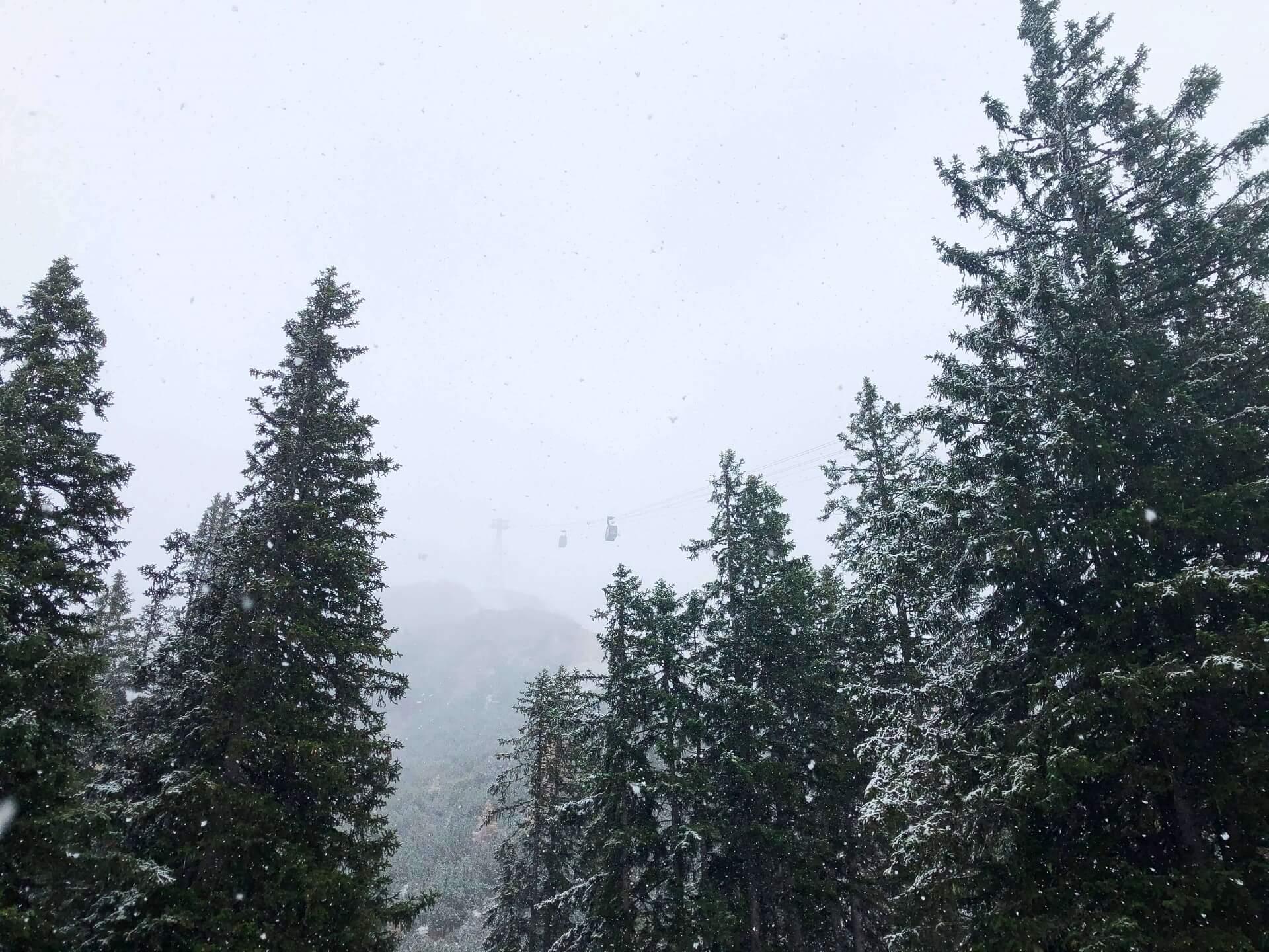 Erster Schnee in Seefeld