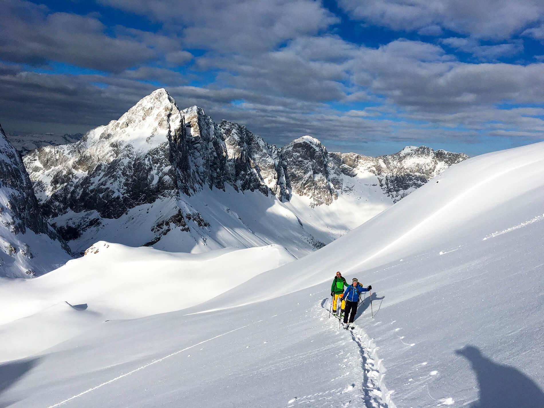 Skitouren gehen im Kärnten