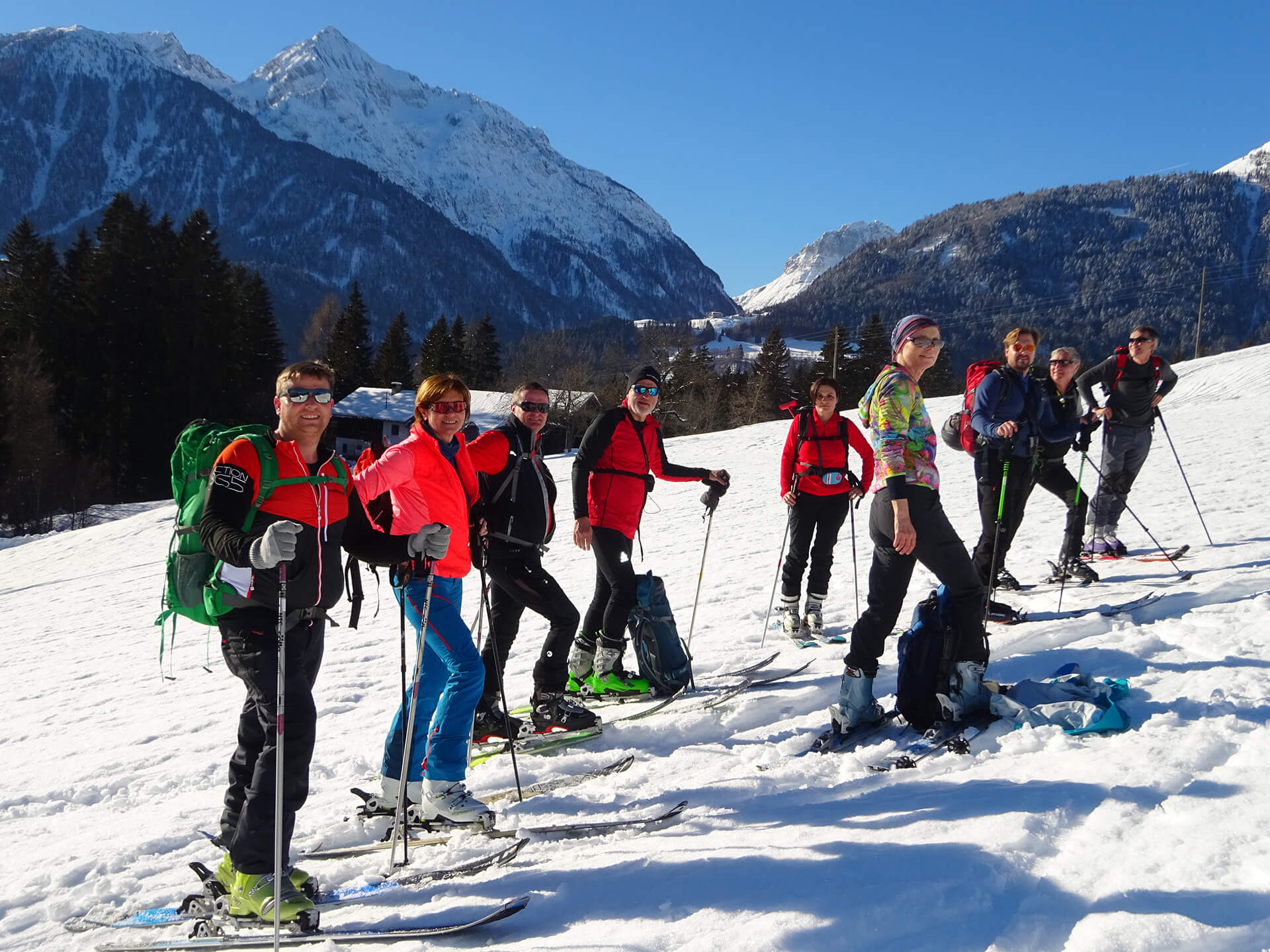 Skitouren Hotel Loncium in Kärnten