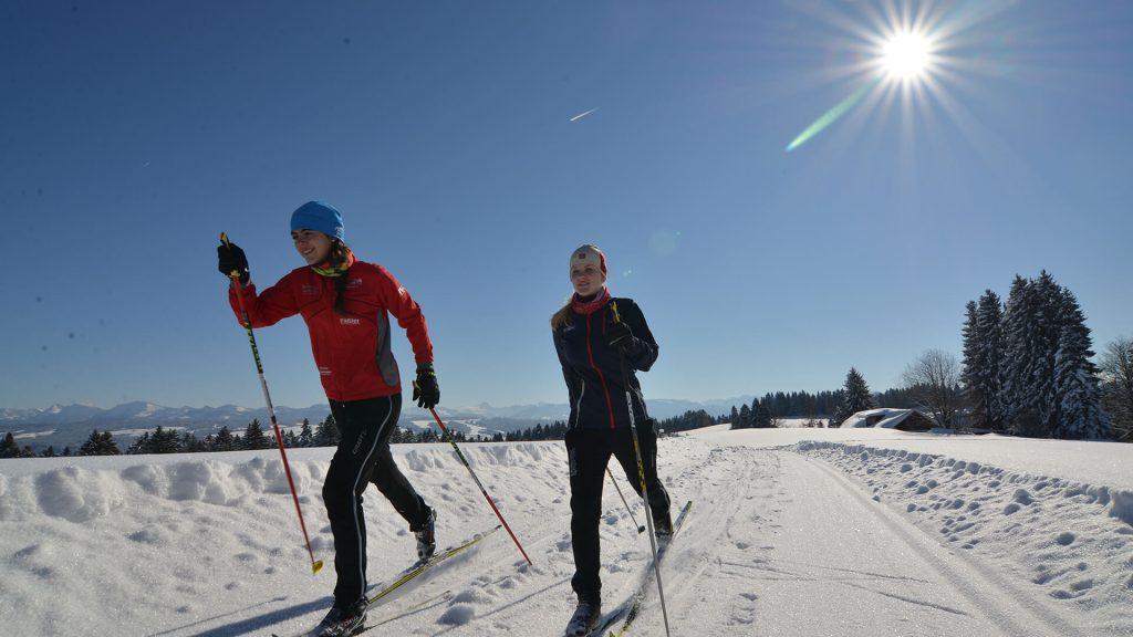 Langlaufen in Scheidegg