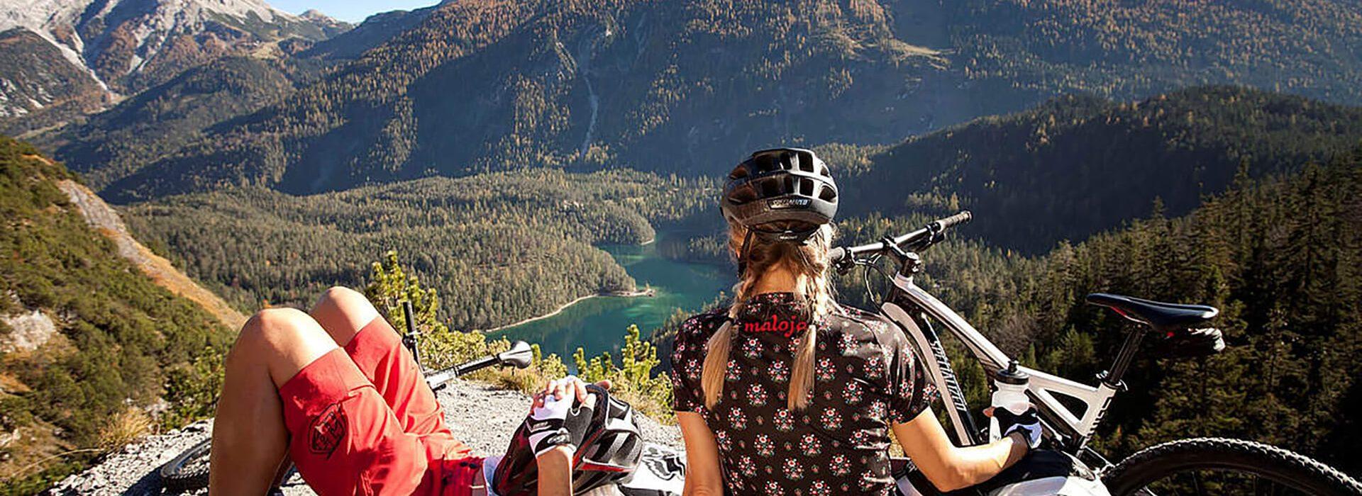 Mountainbike Urlaub Tiroler Zugspitz Arena