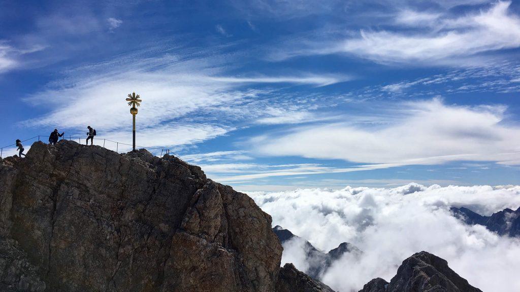 Besteigung der Tiroler Zugspitze ©Birgit_Linder