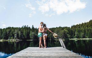 Hotel zum Gourmet – See im Sommer