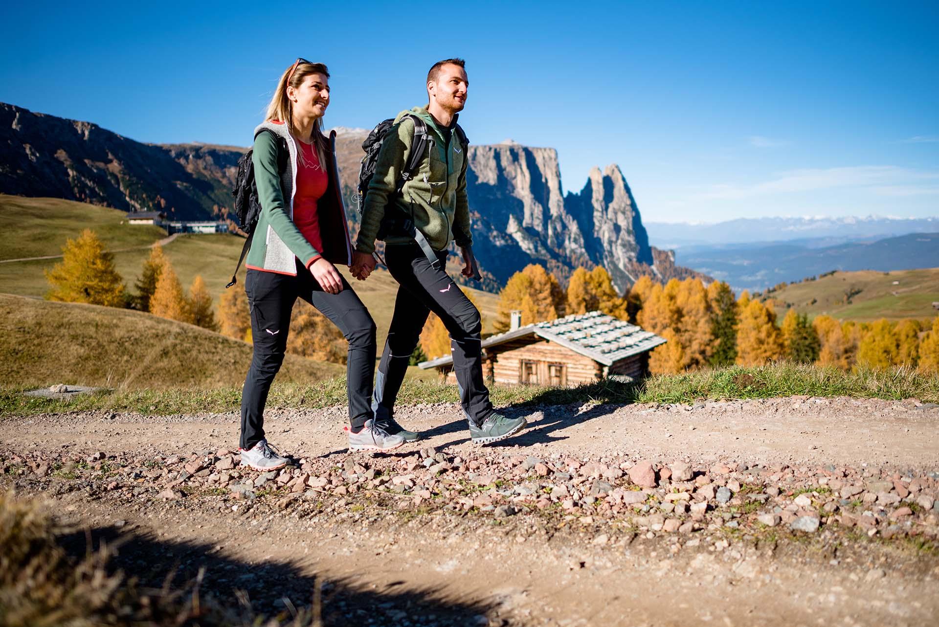 Echt Urig – Ihr Wandererlebnis im Herbst © Seiser Alm Marketing Werner Dejori