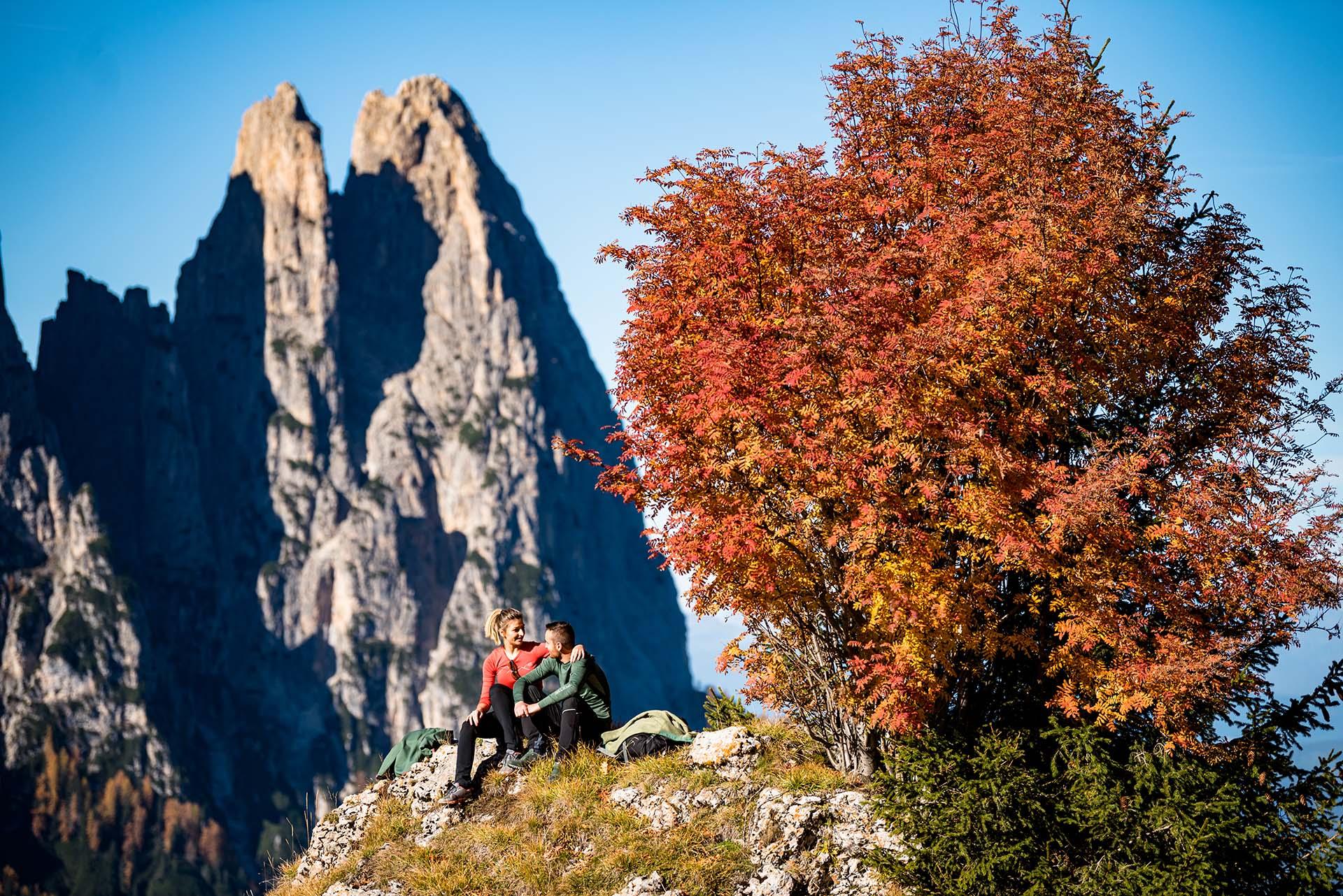 Kraft tanken in Südtirols Natur © Seiser Alm Marketing Werner Dejori