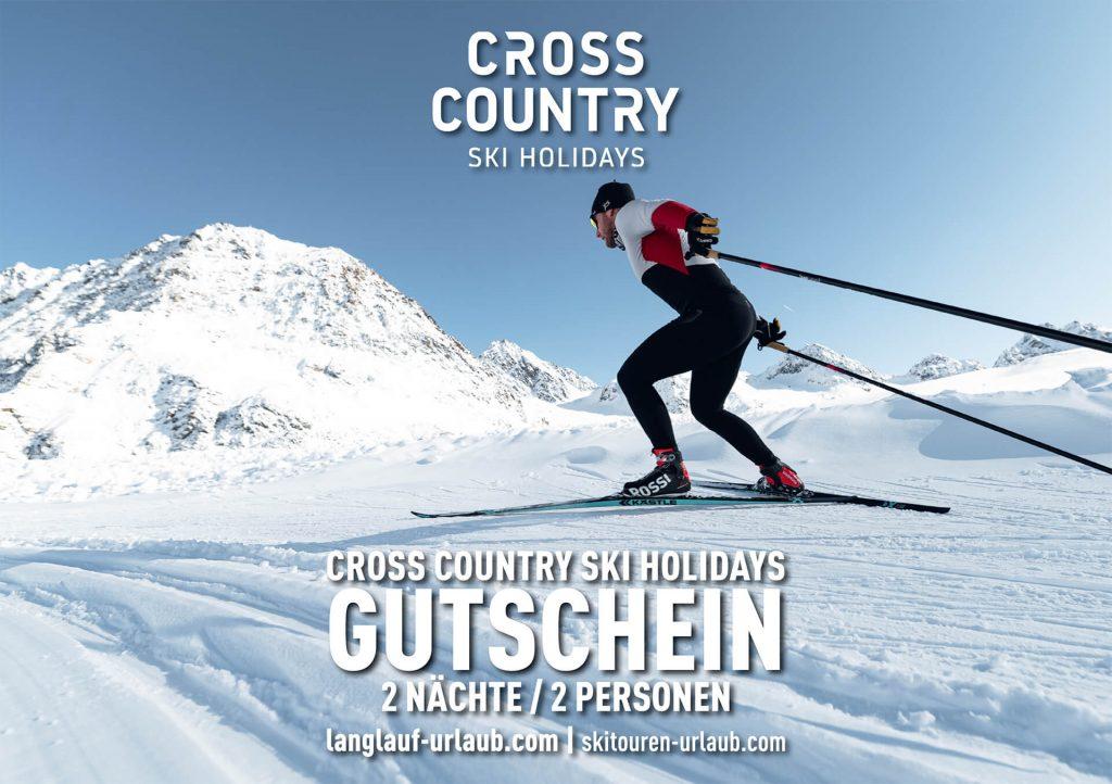 Cross Country Ski Holidays Gutschein 2 Nächte & 2 Personen
