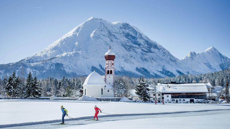 Langlaufen Leutasch_© Olympiaregion Seefeld - Stephan Elsler