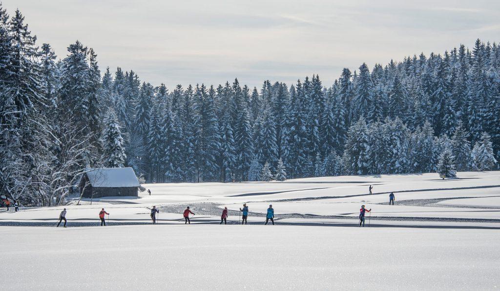Langlaufen in der Fuschlseeregion ©STMG