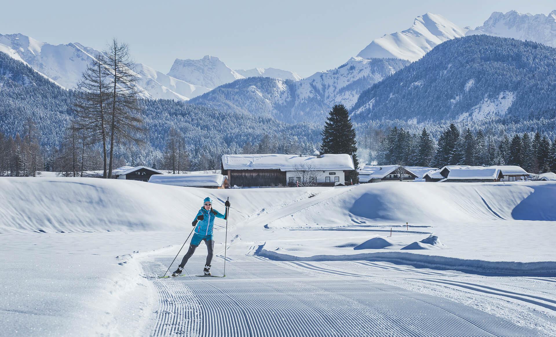 Loipe Plaik_© Olympiaregion Seefeld – Stephan Elsler